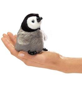 Folkmanis Mini Finger Puppet, Baby Emperor Penguin