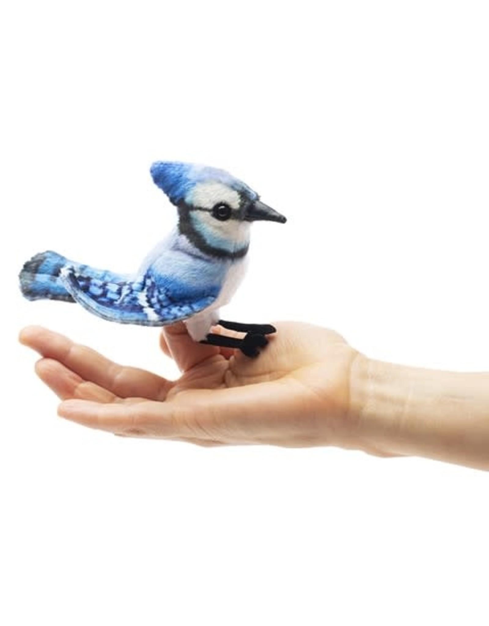 Folkmanis Mini Blue Jay Puppet