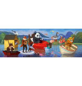 Djeco 350 pcs. Gallery Puzzle, Summer Lake
