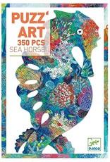 Djeco 350 pcs. Puzz'art, Sea Horse