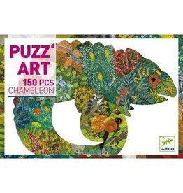 Djeco 150 pcs. Puzz'art, Chameleon