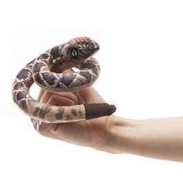 Folkmanis Mini Rattlesnake Finger Puppet
