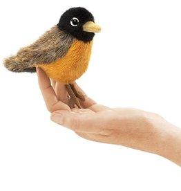 Folkmanis Mini Finger Puppet, Robin