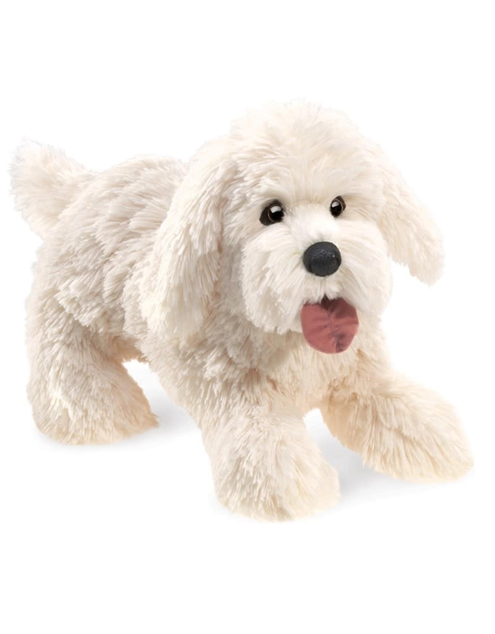 Folkmanis Panting Dog Puppet