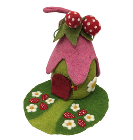Papoose House, Strawberry with Mat