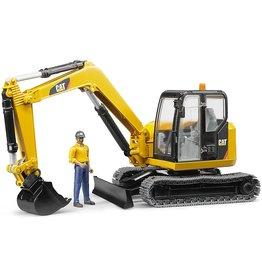 Bruder Toys America Inc CAT Mini Excavator with worker
