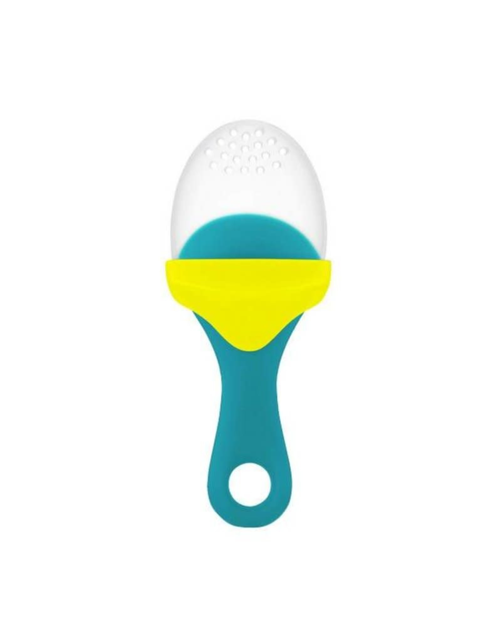 Boon Pulp Silicone Feeder, Teal & Yellow