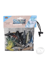The Toy Network Dolphin and Whale Mesh Bag Play Set, 12 pack