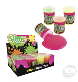 The Toy Network Funny Neon Slime