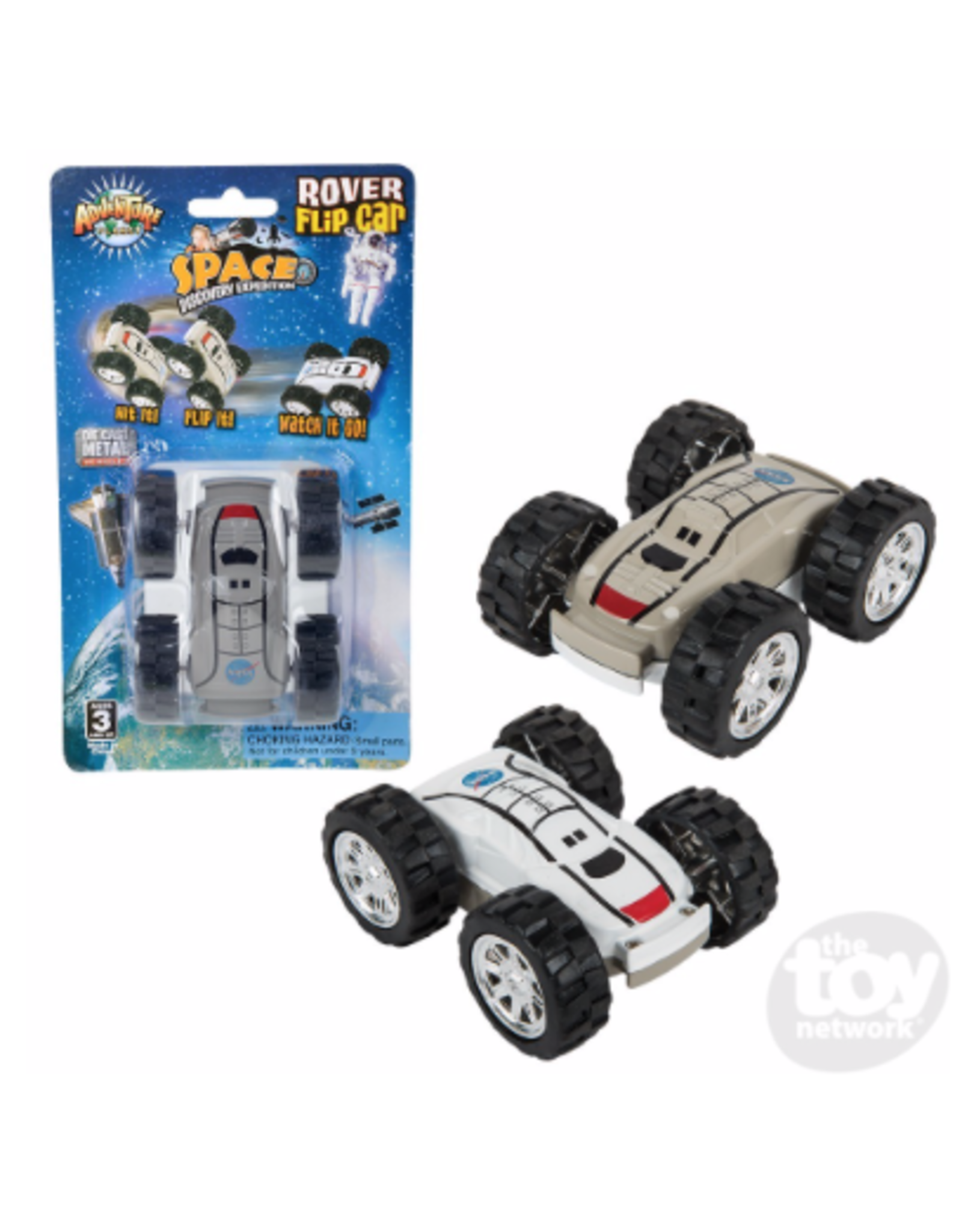 The Toy Network Space Discovery Rover Flip Car