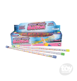 The Toy Network Glitter Water Baton with Beads