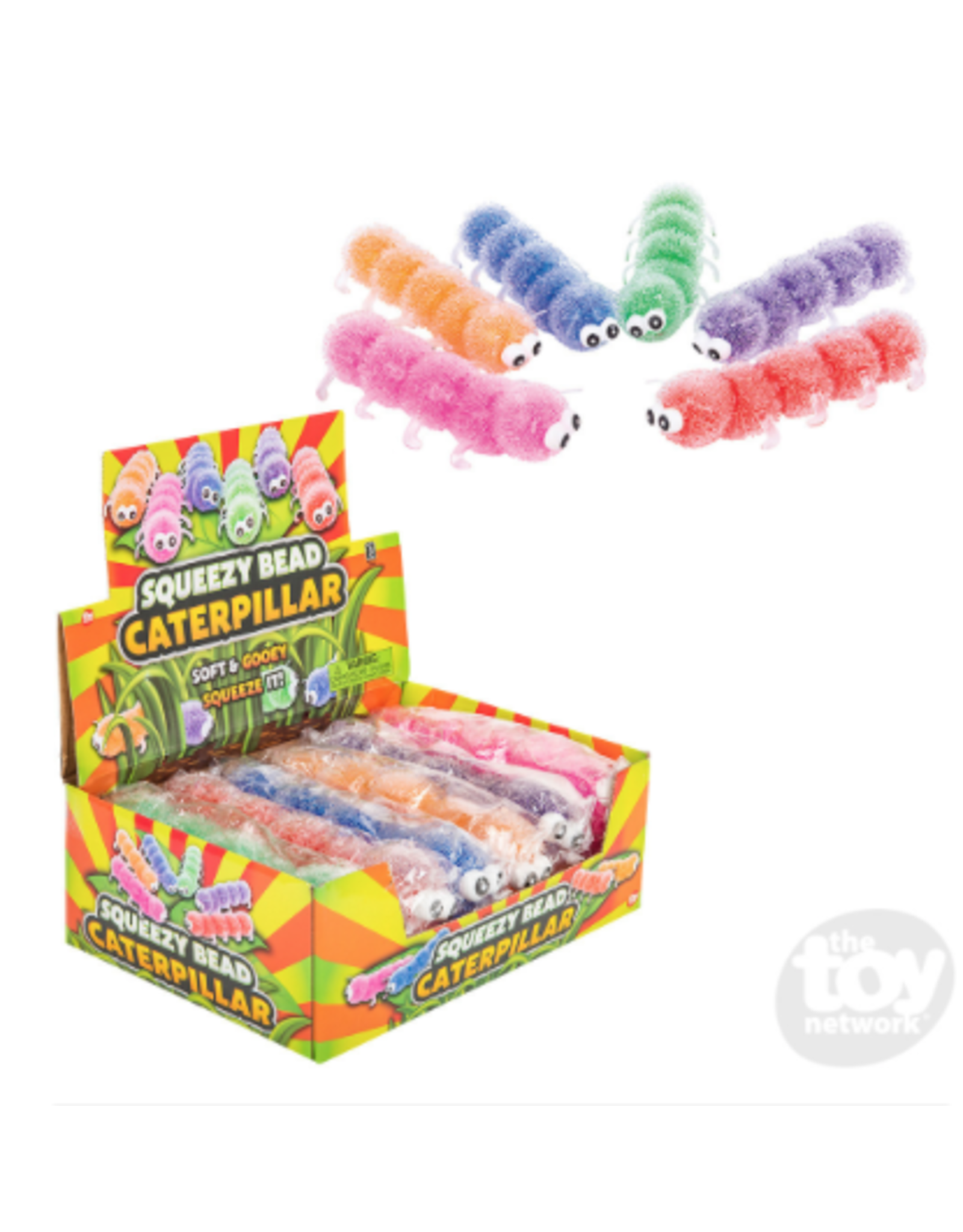 The Toy Network Squeeze Bead Caterpillar