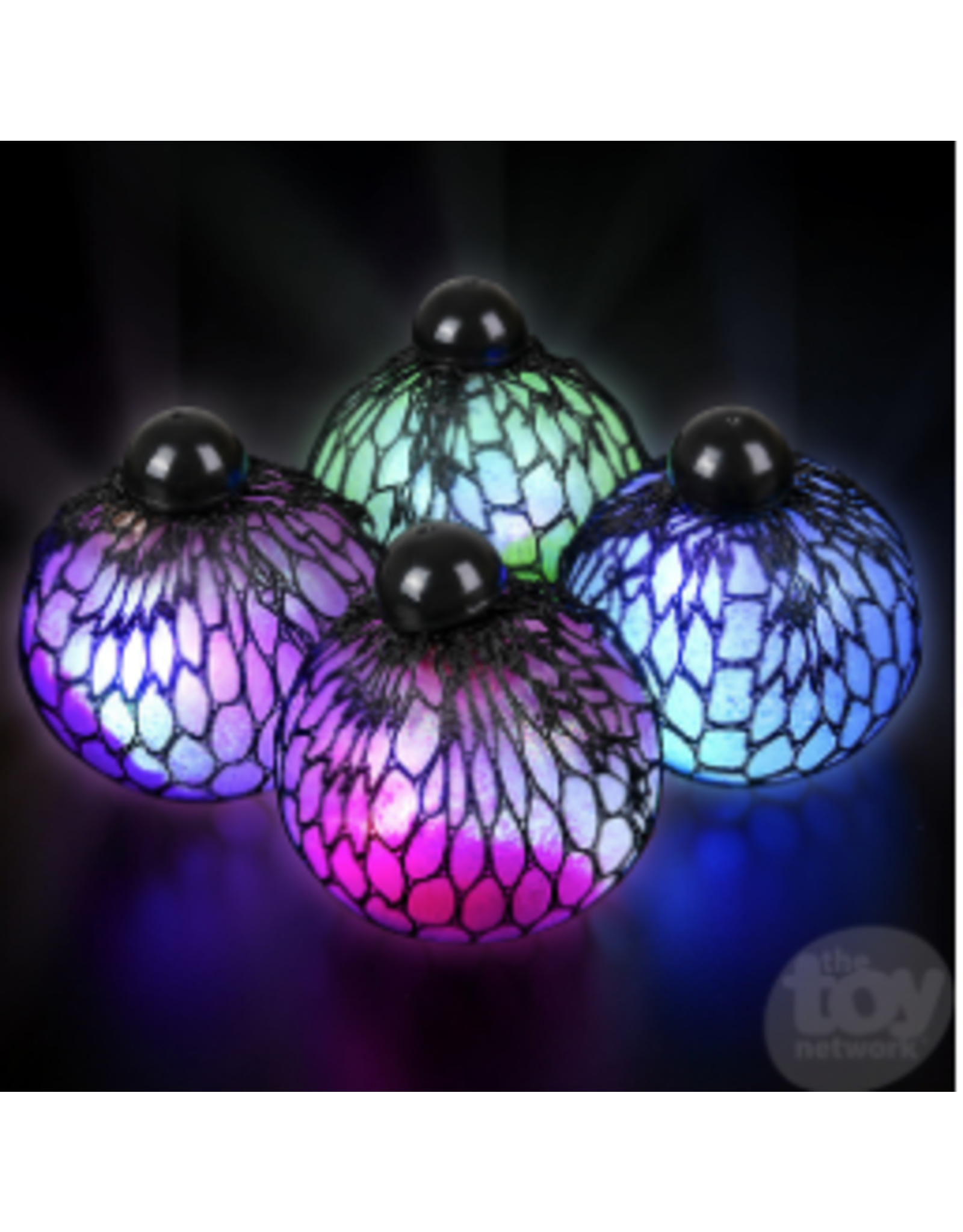 The Toy Network Mesh Squeeze Light-Up Ball