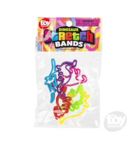 The Toy Network Dinosaur Stretch Bands