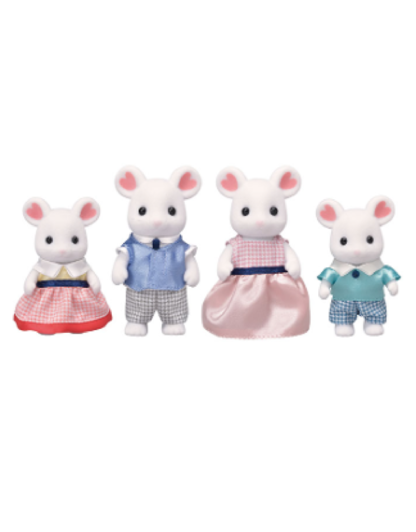 Calico Critters Calico Critters Marshmallow Mouse Family