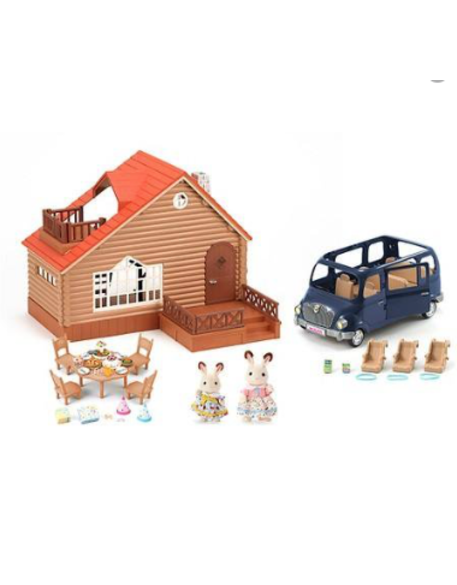 Calico Critters Calico Critters Lakeside Lodge Gift Set