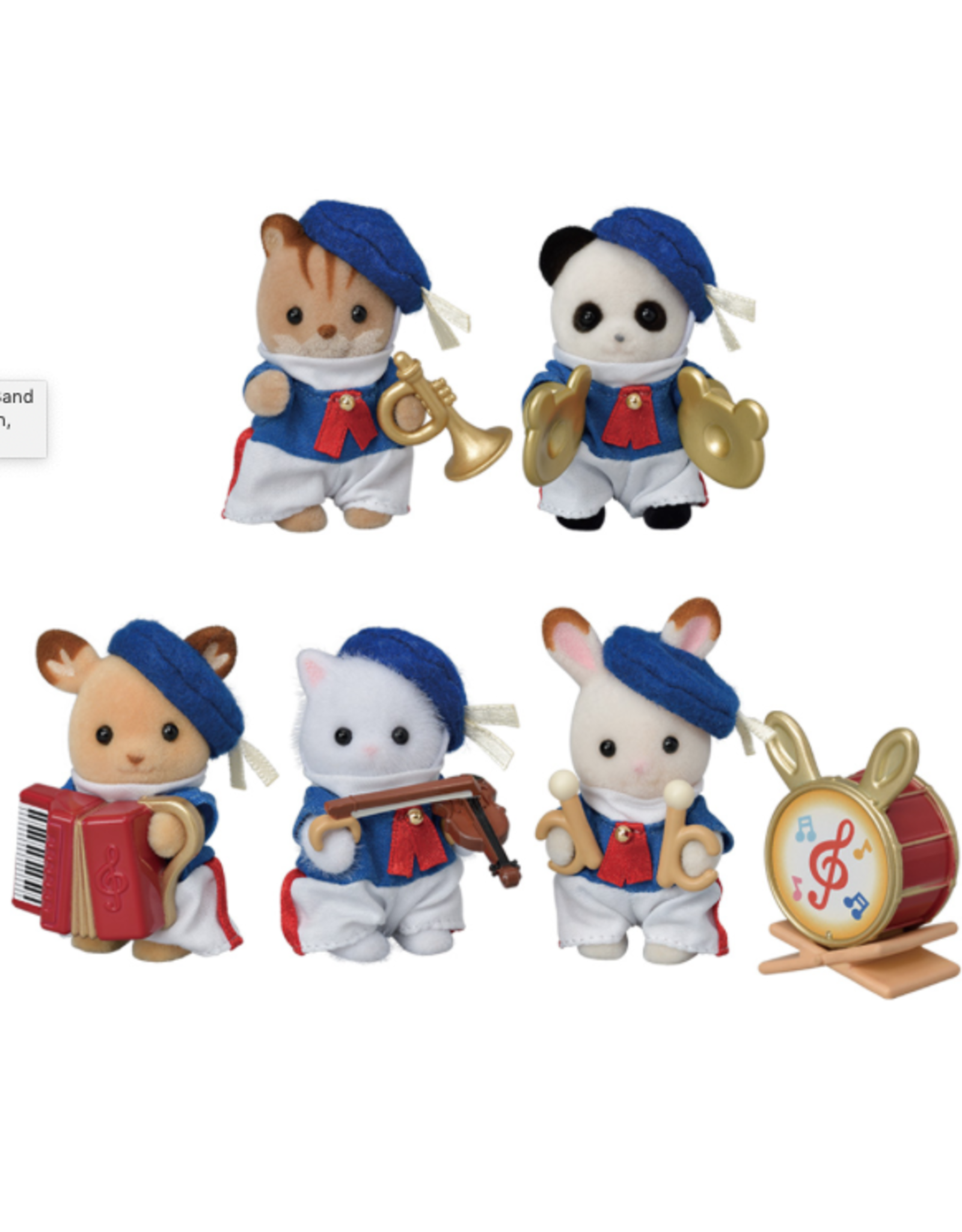Calico Critters Calico Critters Baby Celebration Marching Band