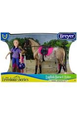 Breyer Casual Rider & Horse