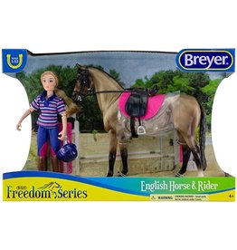 Breyer Casual Rider & Horse