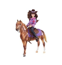Breyer Western Casual Rider & Horse