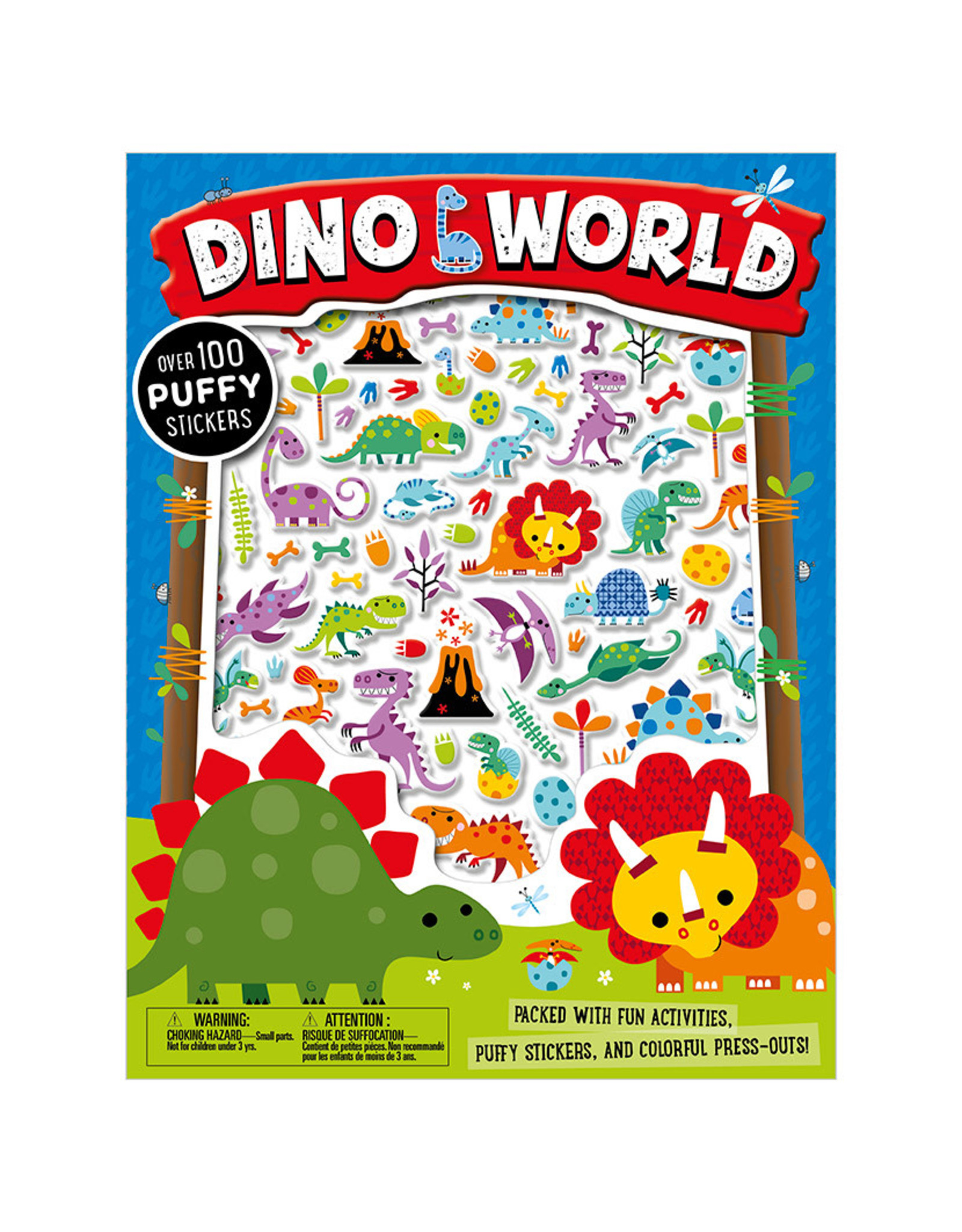 Dino World with Puffy Stickers