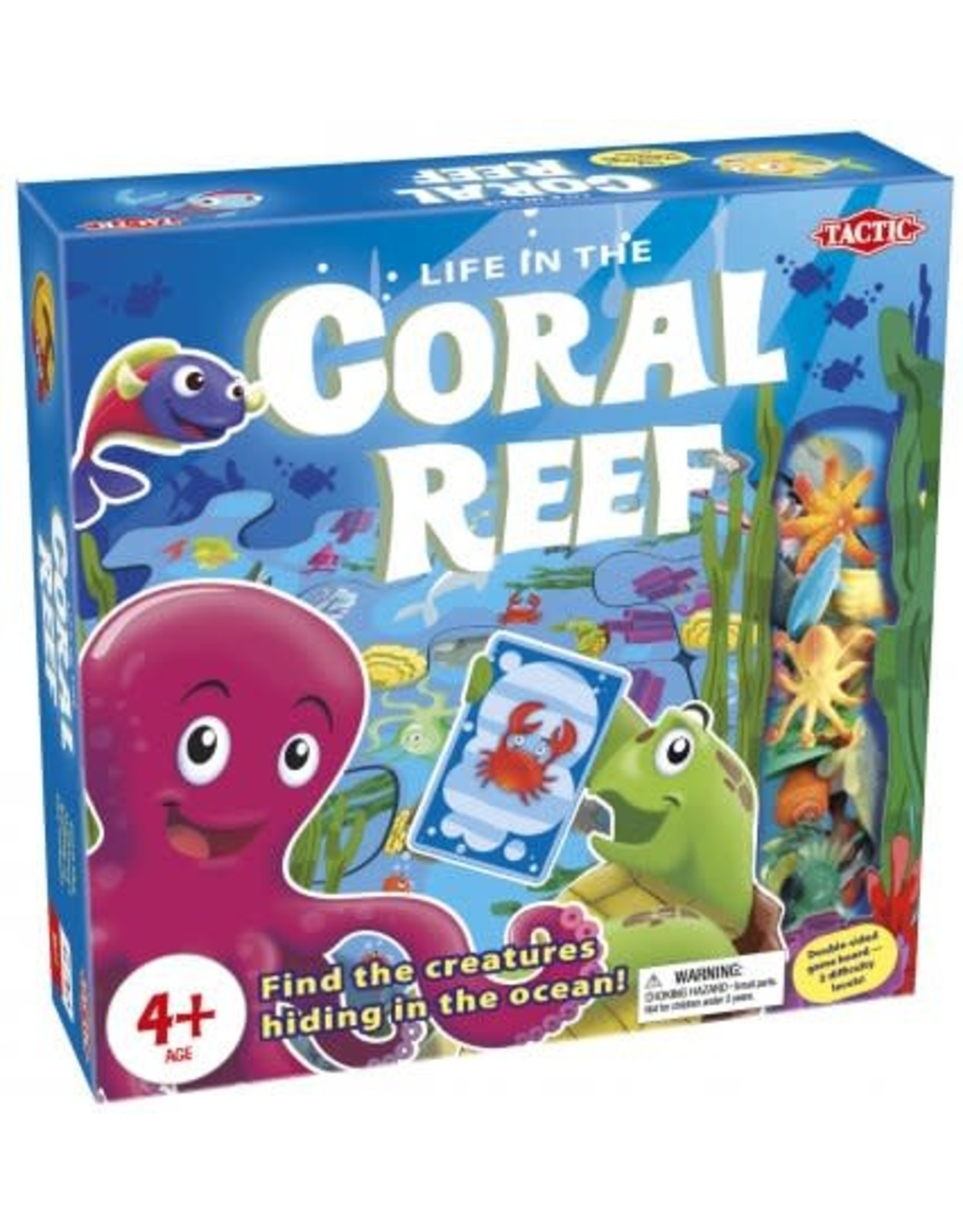 Tactic Life in the Coral Reef Game