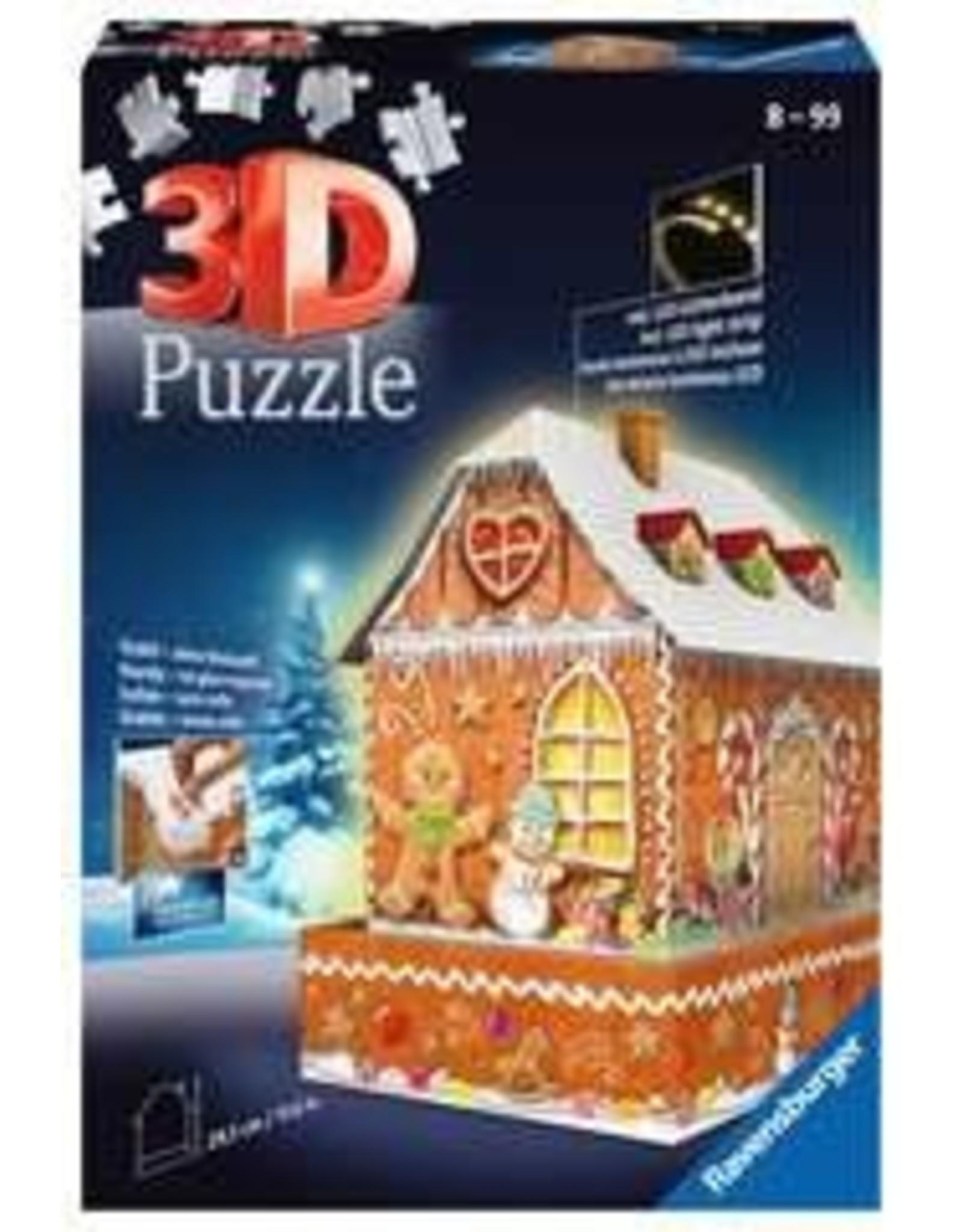 Ravensburger 3D Ginger Bread House Puzzle
