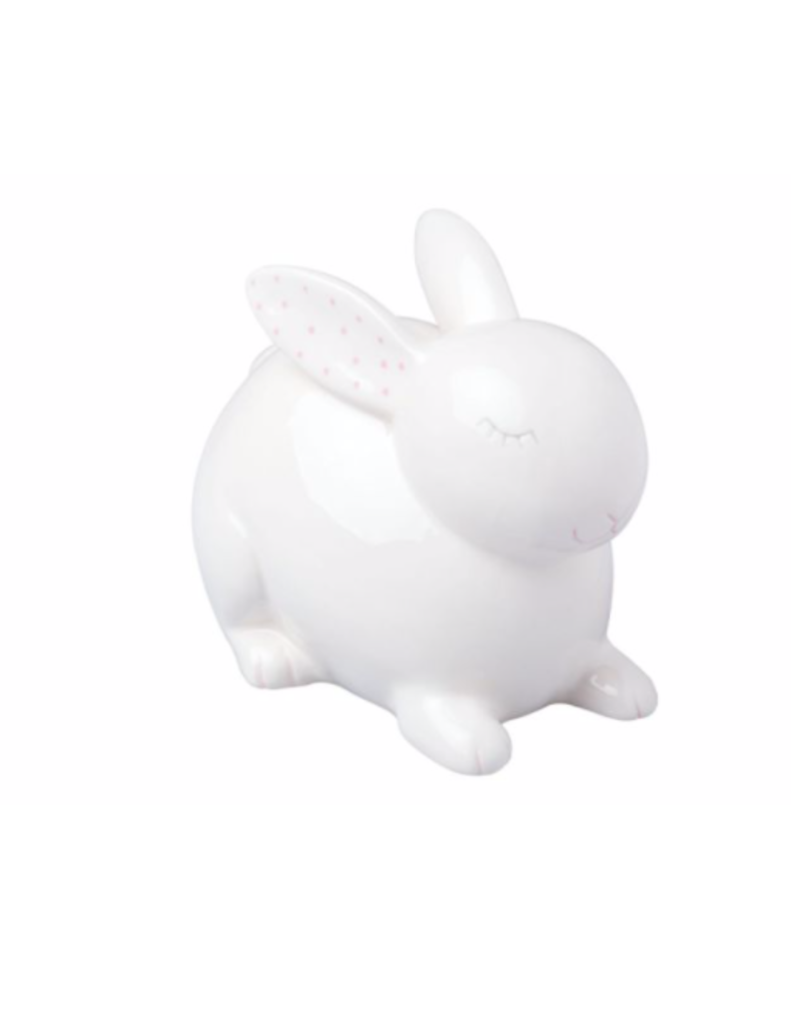 Pearhead Ceramic Bunny Piggy Bank