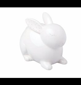 Pearhead Ceramic Bunny Piggy Bank