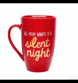 Pearhead 'All Mom Wants is a Silent Night' Mug