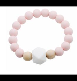 Glitter and Spice Bracelet Gemstone Ballerina Pink