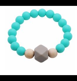 Glitter and Spice Bracelet Gemstone Caribbean Blue