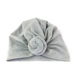 Baby Wisp Baby Wisp Turban Knot Hat, Grey
