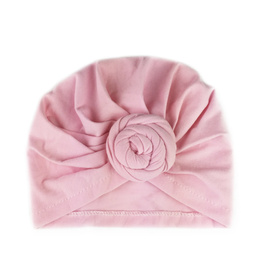 Baby Wisp Baby Wisp Turban Knot Hat, Light Pink