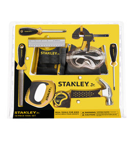 Stanley Jr. 10 Piece Tool Set