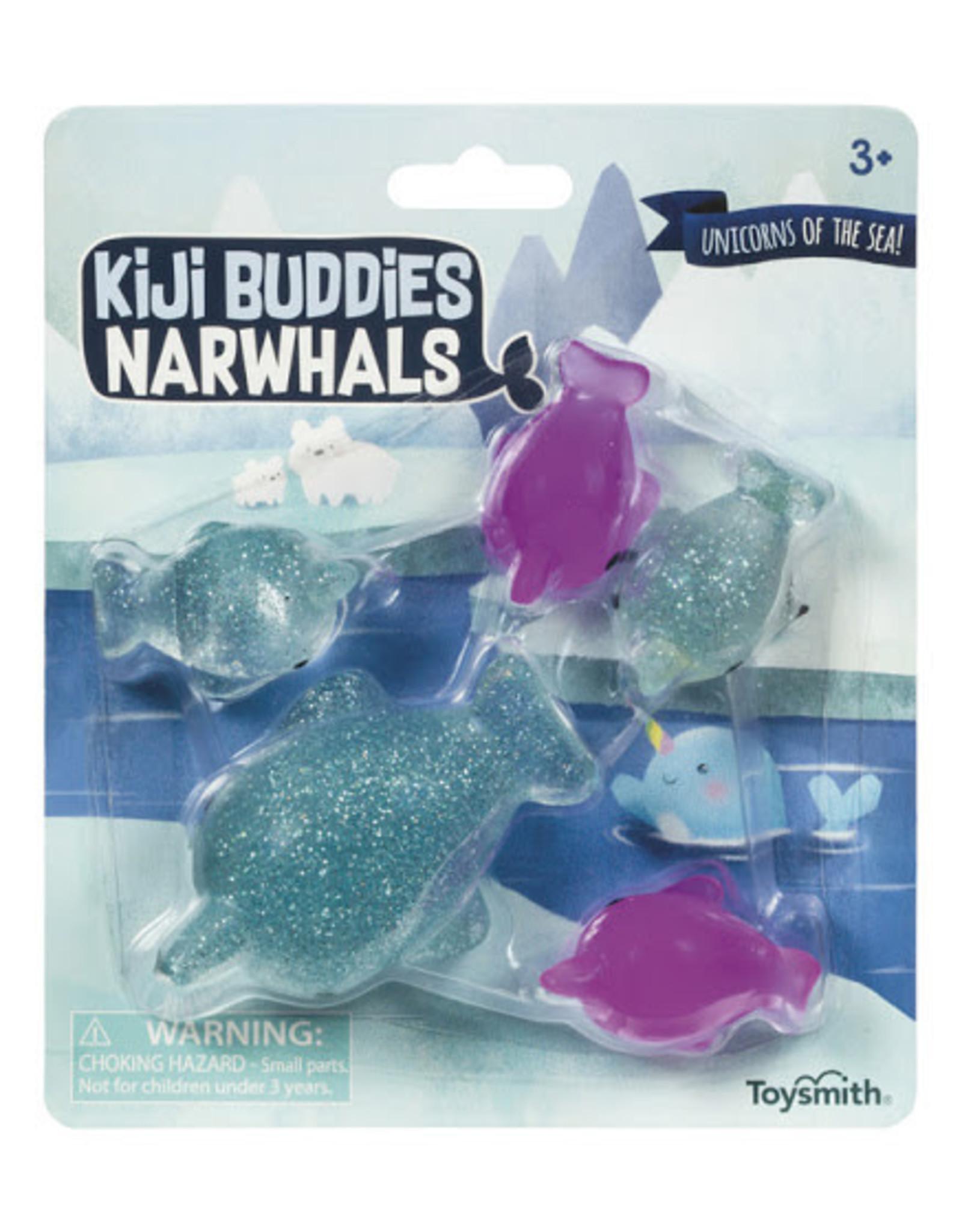 Toysmith Kiji Buddies Narwhals