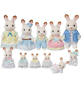 Calico Critters Calico Critters Hopscotch Rabbit Celebration Family