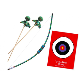 Two Bros Bows Peacock Package Bow Set