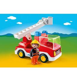 Playmobil 1.2.3 Ladder Unit Fire Truck