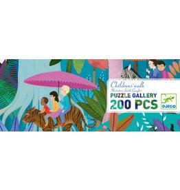 Djeco 200 pcs. Gallery Puzzle, Children's Walk