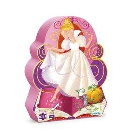 Djeco 36 pcs. Silhouette Puzzle, Cinderella