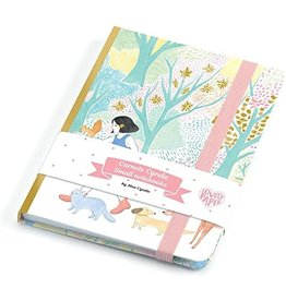 Djeco Notebook with Elastic, Cyndi
