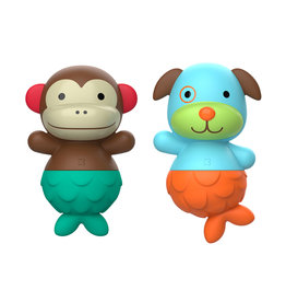 Skip Hop Zoo Mix & Match Flippers, Monkey Dog