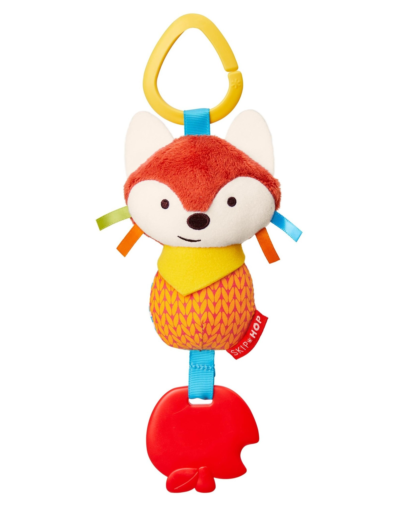Skip Hop Bandana Buddies Teether Toy, Fox
