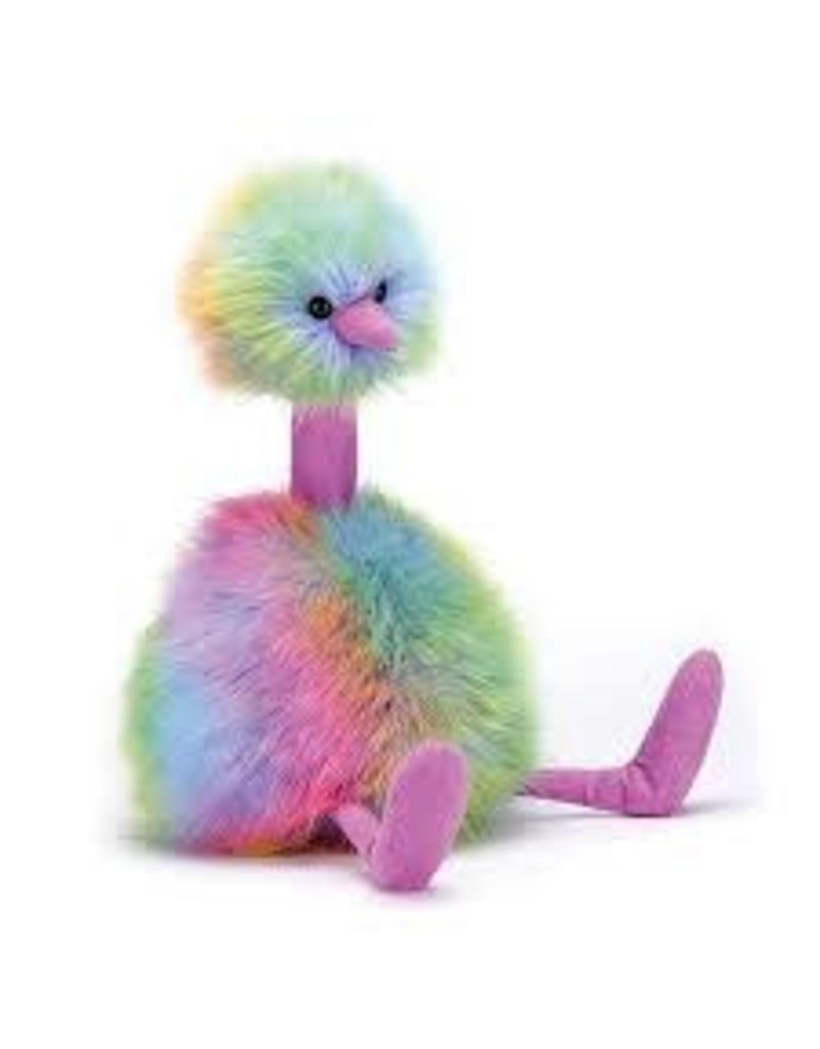 Jelly Cat Rainbow Pompom Large