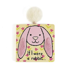 Jelly Cat If I Were a Rabbit Book, Pink