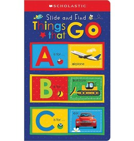 Scholastic Canada Slide and Find: Things that GO