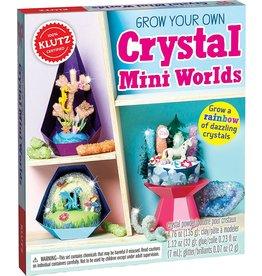 Klutz Klutz: Grow Your Own Crystal Mini Worlds