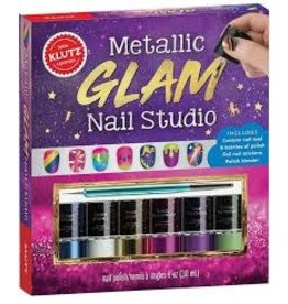 Klutz Kluts: Metallic Glam Nail Studio