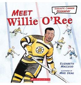 Scholastic Canada Meet Willie O'Ree